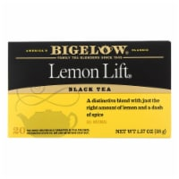 Bigelow Tea Lemon Lift Black Tea - Case of 6 - 20 Bags