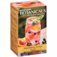 Bigelow Botanicals Cold Water Infusion Blueberry Citrus Basil , 1.31 oz (Pack of 6) - 6