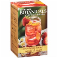 Bigelow Botanicals Cold Water Infusion Strawberry Lemon Organge Blossom , 1.23 oz (Pack of 6) - 6