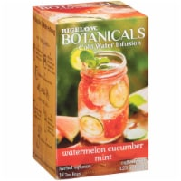 Bigelow Botanicals Cold Water Infusion Watermelon Cucumber Mint ,1.23 oz (Pack of 6)