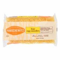Manischewitz - Egg Noodles - Fine - Case of 12 - 12 oz. - 12 OZ