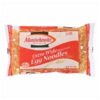 Manischewitz - Extra Wide Egg Noodles - Case of 12 - 12 oz. - 12 OZ