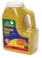 Par Excellence Yellow Rice Seasoned Mix, 3.5 lb (6 count) - 6 Count