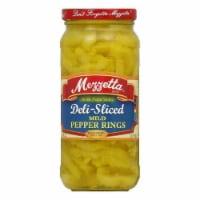 Mezzetta Pepper Rings Deli Sliced, 16 OZ (Pack of 6) - 6