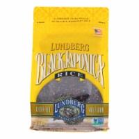 Lundberg Family Farms Eco - Farmed Gourmet Black Japonica Field Blend Rice -6Case - 1 lb.