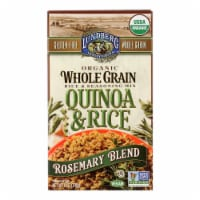 Lundberg Family Farms Organic Quinoa and Rice - Rosemary Blend - Case of 6 - 6 oz. - Case of 6 - 6 OZ each