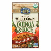 Lundberg Family Farms Organic Quinoa and Rice Spanish Style - Case of 6 - 6 oz.