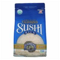 Lundberg Family Farms Organic Sushi White Rice - Case of 6 - 2 lb.