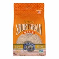 Lundberg Family Farms Organic Short Grain Brown Rice - Case of 6 - 2 lb. - Case of 6 - 2 LB each