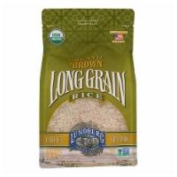 Lundberg Family Farms Organic Brown Long Grain Rice - Case of 6 - 2 lb. - Case of 6 - 2 LB each