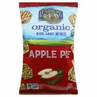 Lundberg Family Farms Organic Rice Cakes Minis Apple Pie, 5oz (Pack of 6) - 6
