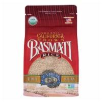 Lundberg Family Farms Organic California Brown Basmati Rice - Case of 6 - 2 lb. - Case of 6 - 2 LB each