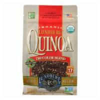 Lundberg Family Farms Organic Quinoa - Tri-Color - Case of 6 - 1 lb.