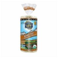 Lundberg Family Farms Organic Rice Cakes Honey Nut, 9.6oz (Pack of 6) - 6