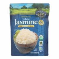 Lundberg Family Farms Organic Thai Rice - White Jasmine - Case of 6 - 8 oz - Case of 6 - 8 OZ each
