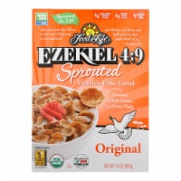 Food For Life Organic Flake Cereal - Ezekiel 4:9 Original - Case of 6 - 14 oz