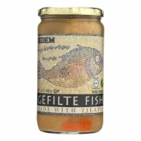 Kedem Gefilte Fish - Tilapia - Case of 12 - 24 oz.