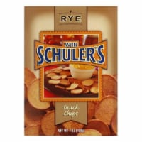 Win Schuler Natural Rye Bar-Schips, 7 OZ (Pack of 12) - 12