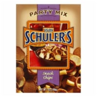 Win Schuler Party Mix Schips, 7 OZ (Pack of 12) - 12