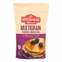 Arrowhead Mills - Pancake and Waffle Mix - Natural Multigrain - Case of 6 - 26 oz. - Case of 6 - 26 OZ each