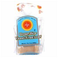 Ener-G Foods - Loaf - Brown Rice - Yeast-Free - 19 oz - case of 6 - Case of 6 - 19 OZ each