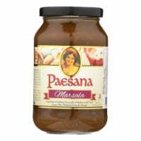 Paesana Cooking Marsala - Sauce - Case of 6 - 15.75 oz. - Case of 6 - 15.75 OZ each