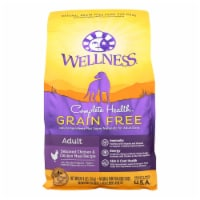 Wellness Pet Products Dog Food - Grain Free - Chicken Recipe - Case of 6 - 4 lb. - Case of 6 - 4 LB each