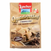 Loacker Quadratini Wafer Cookies  - Case of 6 - 7.76 OZ - Case of 6 - 7.76 OZ each