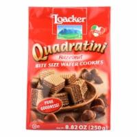 Loacker Quadratini Wafer Cookies  - Case of 6 - 8.82 OZ - Case of 6 - 8.82 OZ each