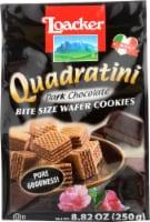 Loacker Quadratini  Dark Chocolate Wafer 8.82oz PK6 - 6