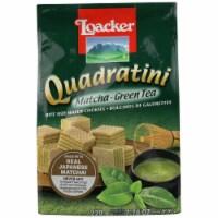 Loacker Quadratini Matcha Green Tea Wafer 7.76oz PK6 - 6