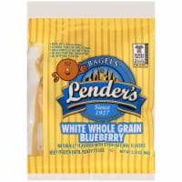 Lenders White Whole Grain Blueberry Bagel, 2.25 Ounce -- 72 per case.