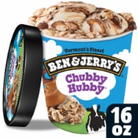 Ben & Jerry's, Chubby Hubby Ice Cream, Pint (8 Count)