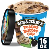 Ben & Jerry's, Peanut Butter Cup Ice Cream, Pint (8 Count)