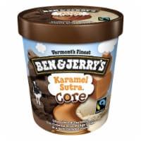 Ben & Jerry's, Karamel Sutra Core Ice Cream, Pint (8 Count)