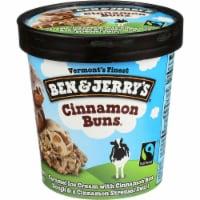 Ben & Jerry's, Cinnamon Buns Ice Cream, Pint (8 Count)
