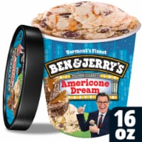 Ben & Jerry's, Americone Dream Ice Cream, Pint (8 Count)
