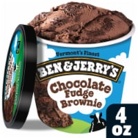 Ben & Jerry's Chocolate Fudge Brownie Ice Cream Cup (w/spoon), 3.60 oz. (12 count)