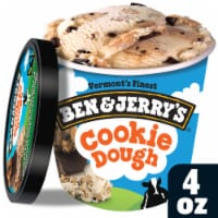 Ben & Jerry's Chocolate Chip Cookie Dough Cup (w/spoon), 3.60 oz. (12 count)