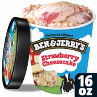 Ben & Jerry's, Strawberry Cheesecake Ice Cream, Pint (8 Count)
