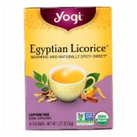 Yogi Egyptian Licorice - Case of 6 - 16 Bags - Case of 6 - 16 BAG each