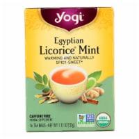 Yogi Egyptian Licorice - Mint - Case of 6 - 16 Bags - Case of 6 - 16 BAG each