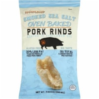 Southern Recipe Oven Baked Pork Rinds Smoked Sea Salt , 3.63oz (Pack of 12)