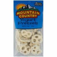 Mountain Country Yogurt Pretzel, 4.5 Ounce -- 6 per case. - 6-4.5 OUNCE
