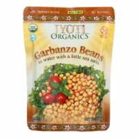 Jyoti Cuisine India Beans - Organic - Garbanzo - 10 oz - case of 6 - Case of 6 - 10 OZ each
