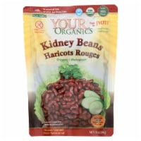 Jyoti Cuisine India Beans - Organic - Kidney - 10 oz - case of 6 - Case of 6 - 10 OZ each