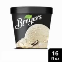 Breyers, Vanilla All Natural Frozen Dessert, Pint (8 Count) - 8 Count