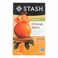 Stash Tea Tea - Black - Orange Spice - Case of 6 - 20 count