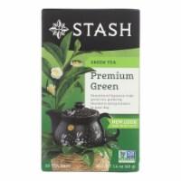 Stash Tea Organic Green Tea - Premium - Case of 6 - 20 Bags - 20 BAG