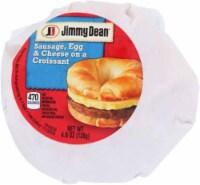 Jimmy Dean Sausage Egg & Cheese Croissant Sandwiches - 12 ct / 4.9 oz